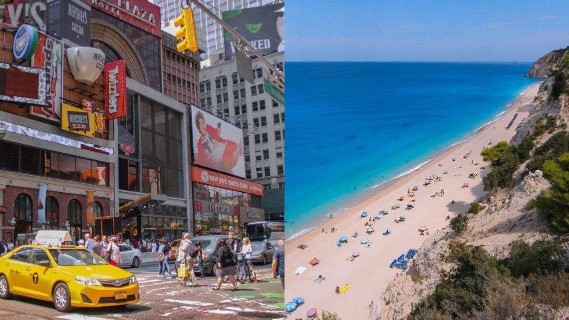New York ali Grčija