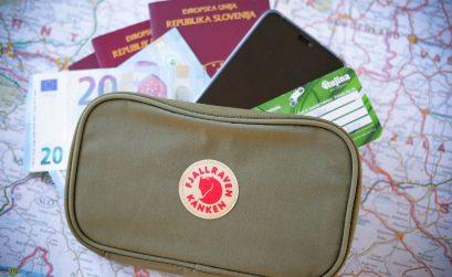 denarnica za potovanja, popotniška denarnica
