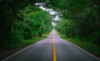Jukatan program poti, Jukatan potovanje, Jukatan z avtom
