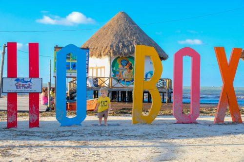 Jukatan potovanje, Jukatan z avtom, Jukatan znamenitosti