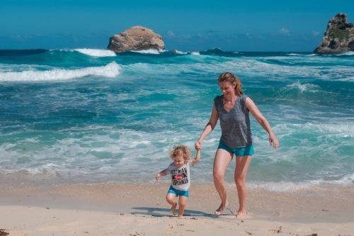 Guadeloupe, Karibi, potovanja z otrokom