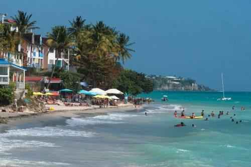 otok Guadeloupe, karibi, poceni potovanje