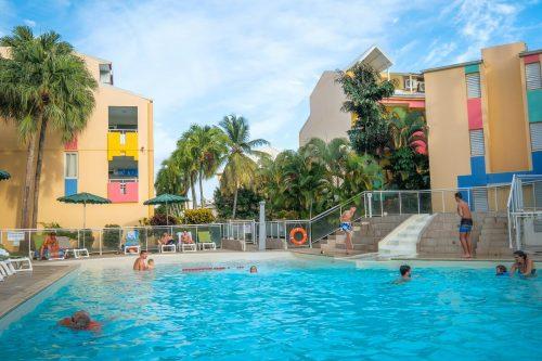 Guadeloupe, hoteli, Karibi