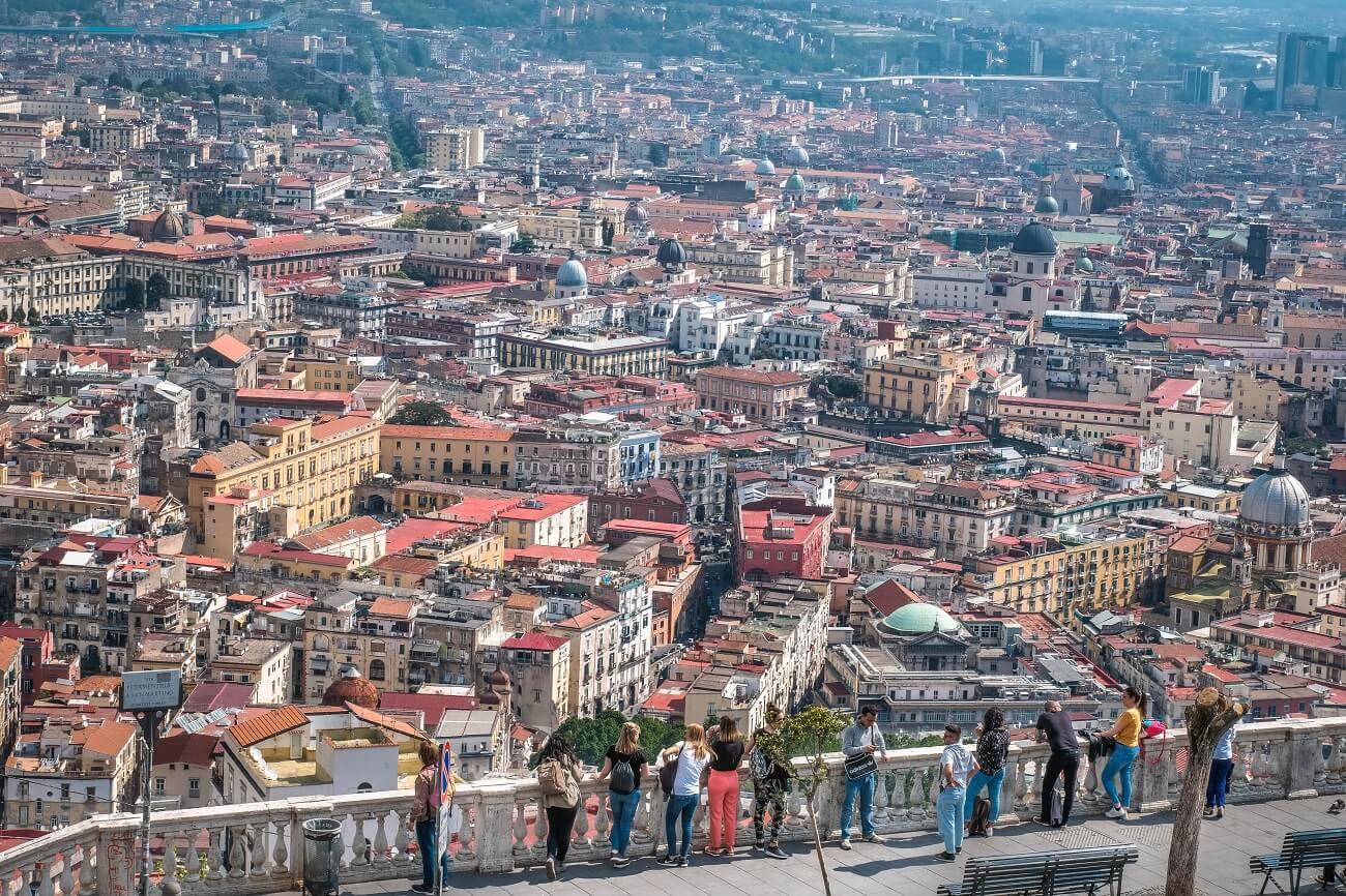 Izlet v Neapelj, Neapelj izlet, Neapelj Italija
