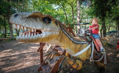 Dino park Bled, Bled, dinozavri, ideja za izlet