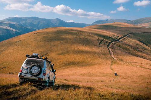 Karpati, Romunija, potovanja z avtom