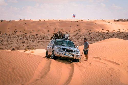 Potovanje v Tunizijo z avtom