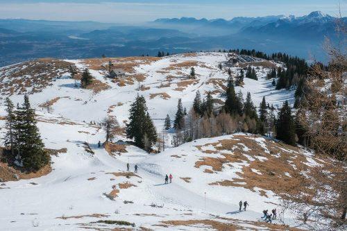 Zimski izlet in sankanje z Dobrač-a – je lahko sploh še lepše?