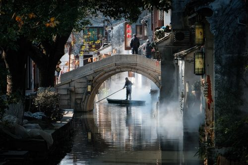 Vodno mesto Zhouzhuang, Kitajska