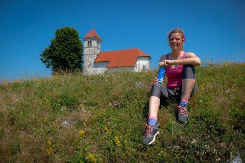 Lahke peš poti v Sloveniji