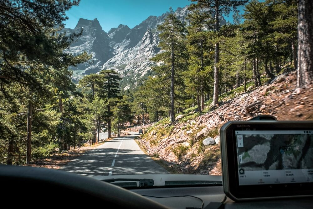 Korzika potovanje - vodič